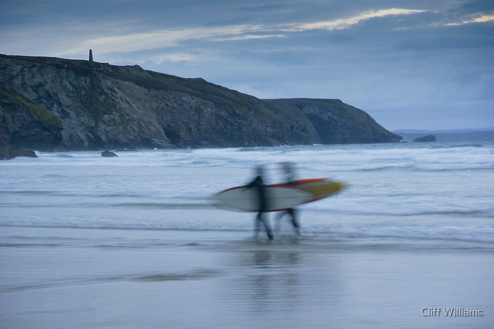 Mickey late night surfers by Cliff Williams