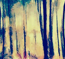 blury forest by bogfl