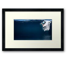The Art Of Surfing In Hawaii 2 Framed Print