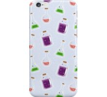 Pixel Potions Pattern iPhone Case/Skin