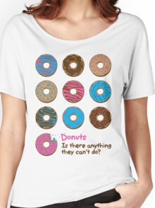 Mmmm donuts! Women's Relaxed Fit T-Shirt