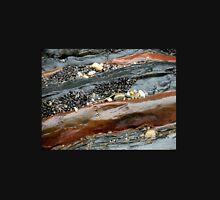 Rocks, Pebbles and Shells, Sulphur Rocks, Northern Tasmania, Australia. Unisex T-Shirt