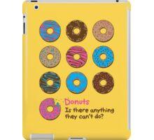 Mmmm donuts! iPad Case/Skin