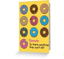 Mmmm donuts! Greeting Card