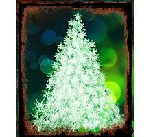 Bokeh Christmas. Photographic Print