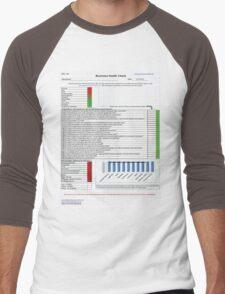 Business health check Men's Baseball ¾ T-Shirt
