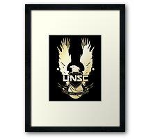 Halo - UNSC Framed Print
