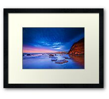 Susan Gilmore / Bar Beach Framed Print