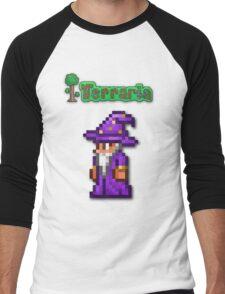 Terraria Wizard Men's Baseball ¾ T-Shirt