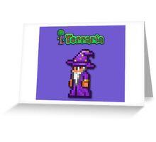 Terraria Wizard Greeting Card