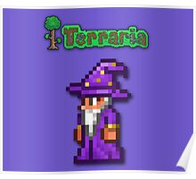 Terraria Wizard Poster