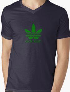 ADIDASH GREEN BIG Mens V-Neck T-Shirt