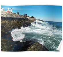 Pemaquid Lighthouse  1 Poster