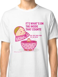 It's what's inside that counts 2 Classic T-Shirt