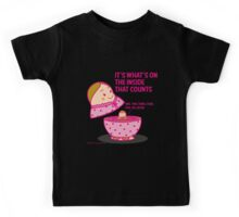 It's what's inside that counts 2 Kids Tee