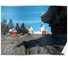 Pemaquid Lighthouse 22 Poster
