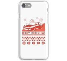 Merry Christmas evo - red iPhone Case/Skin