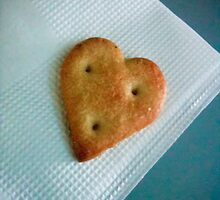 Heart Cookie [ iPad / iPod / iPhone Case ] by Mauricio Santana