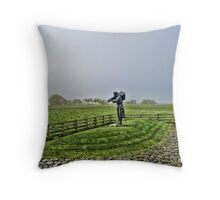 Herring fisher, Holland Throw Pillow