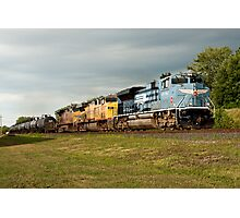 Union Pacific Heritage Locomotive Photographic Print