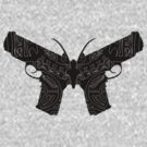 Farcry 3 Butterfly Gun Logo [1] by e4c5