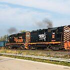 Wheeling & Lake Erie Railroad by StonePhotos