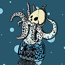 Frosty the Octopus by Tyburcat
