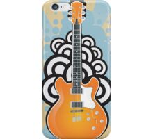 Vintage Acoustic Guitar iPhone Case/Skin