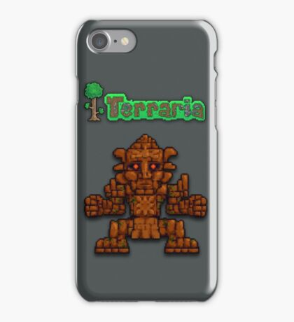 Terraria Golem iPhone Case/Skin