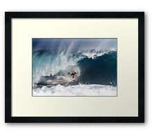 The Art Of Surfing In Hawaii 5 Framed Print