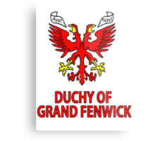 Duchy of Grand Fenwick - Coat of Arms Metal Print