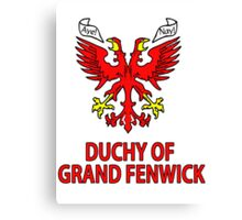 Duchy of Grand Fenwick - Coat of Arms Canvas Print