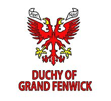 Duchy of Grand Fenwick - Coat of Arms Photographic Print