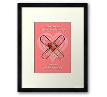 Valentine's Day Framed Print