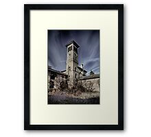 THE ASYLUM Framed Print