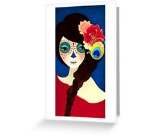 Muertita: Candy Greeting Card