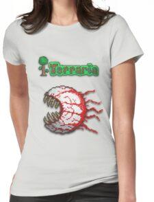 Terraria Eye Of Cthulhu Womens Fitted T-Shirt
