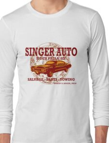 SINGER AUTO Long Sleeve T-Shirt
