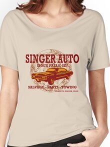 SINGER AUTO Women's Relaxed Fit T-Shirt