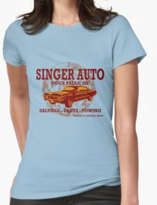 SINGER AUTO Womens Fitted T-Shirt