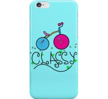 Classy in style iPhone Case/Skin