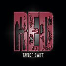 Taylor Swift Red Case (Black and RED texture) by Double-T