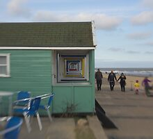 Beach Huts, Southwold, England by Justin Mitchell