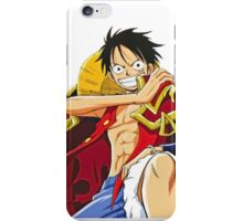 king luffy iPhone Case/Skin