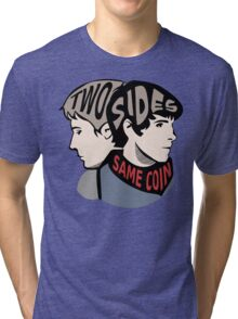 Two Sides of the Same Coin Tri-blend T-Shirt