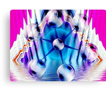 The Celestial Particle Accelerator Canvas Print