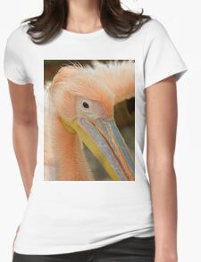 Awesome Pelican Bird Womens Fitted T-Shirt