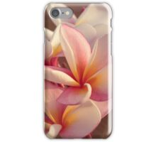 Plumeria Soft iPhone Case/Skin