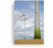 Wind farm in Germany Canvas Print