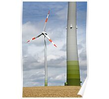 Wind farm in Germany Poster